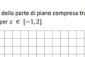 Domanda di analisi matematica da una follower: Calcolare l'area compresa tra una funzione e l'asse delle x in un intervallo definito
