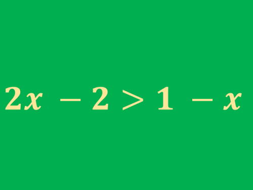 Guida alla risoluzione delle disequazioni di primo grado