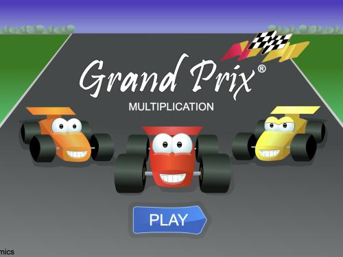 Gioco matematico online: Corri il Grand Prix a suon di tabelline. Semplice, divertente ed istruttivo!