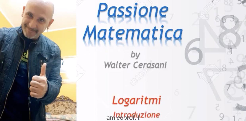 Videolezione di introduzione ai logaritmi