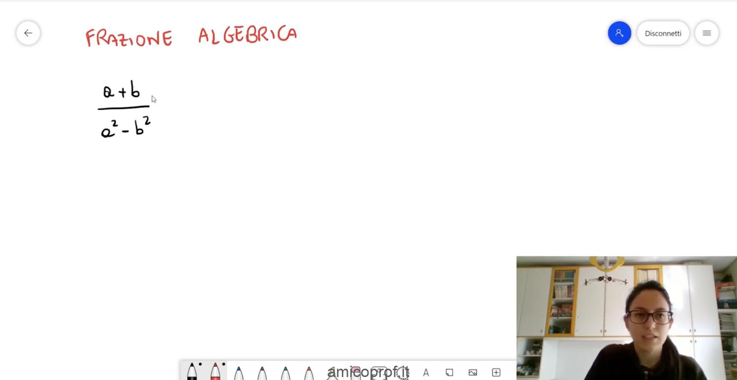 Frazioni Algebriche: semplificazioni, addizione e sottrazione