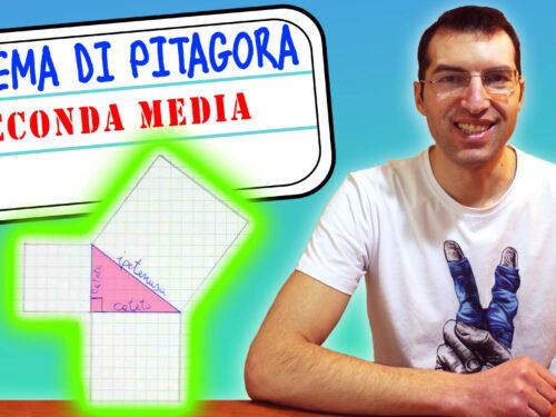 Teorema di pitagora: spiegazione scuola media