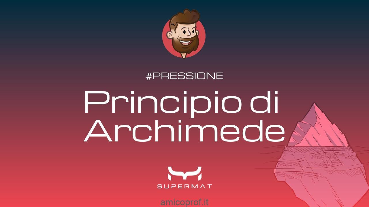 Il Principio di Archimede: Eureka!!